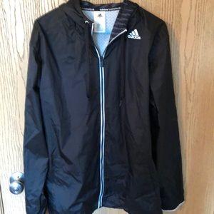 Adidas Basketball Jacket with Hood
